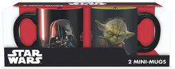 Vader vs Yoda -  Espresso Cup Set