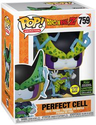 Z - ECCC 2020 - Perfect Cell (GITD) Vinylfiguur 759