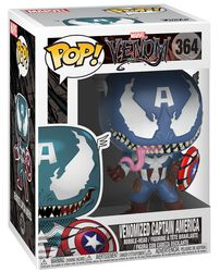 Venomized Captain America Vinylfiguur 364