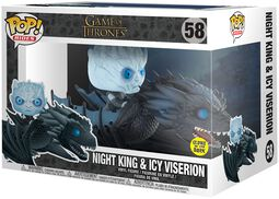 Night King & Icy Viserion (GITD) POP Rides Vinylfiguur 58