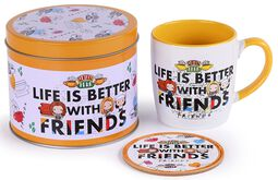 Life Is Better With Friends - Gift Set