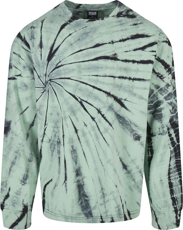 Boxy Tye Dye LS