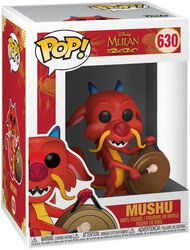 Mushu with Gong Vinylfiguur 630