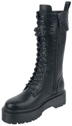 High Buckle Boot