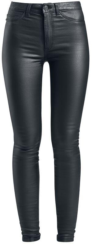Callie High Waist Skinny Coated Pants