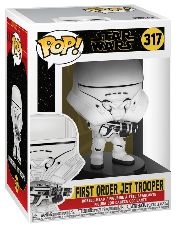 Episode 9 - The Rise of Skywalker - First Order Jet Trooper Vinylfiguur 317