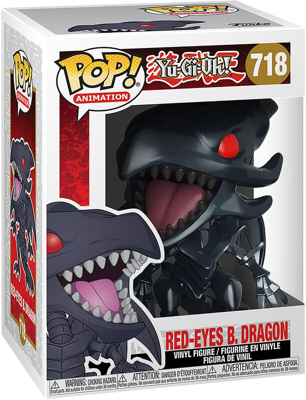Red-Eyes Black Dragon Vinylfiguur 718