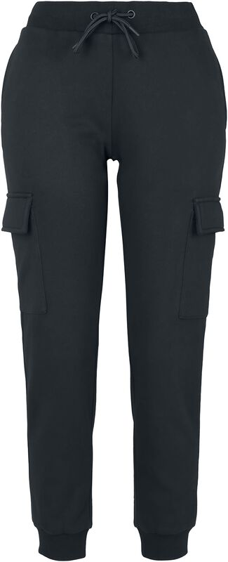 Ladies Cargo Sweat Trousers