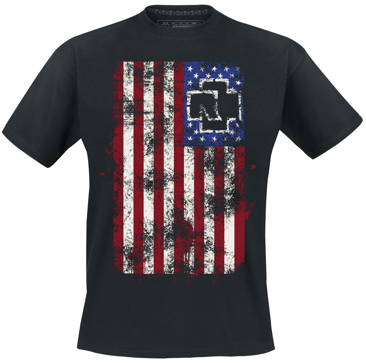 amerika rammstein t shirt large. Black Bedroom Furniture Sets. Home Design Ideas