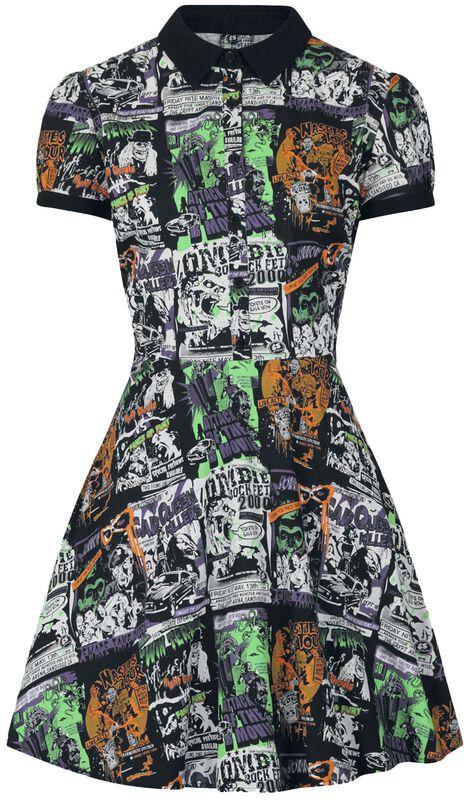 Be Afraid Mini Dress