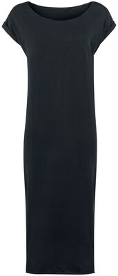 Ladies Long Slub Dress