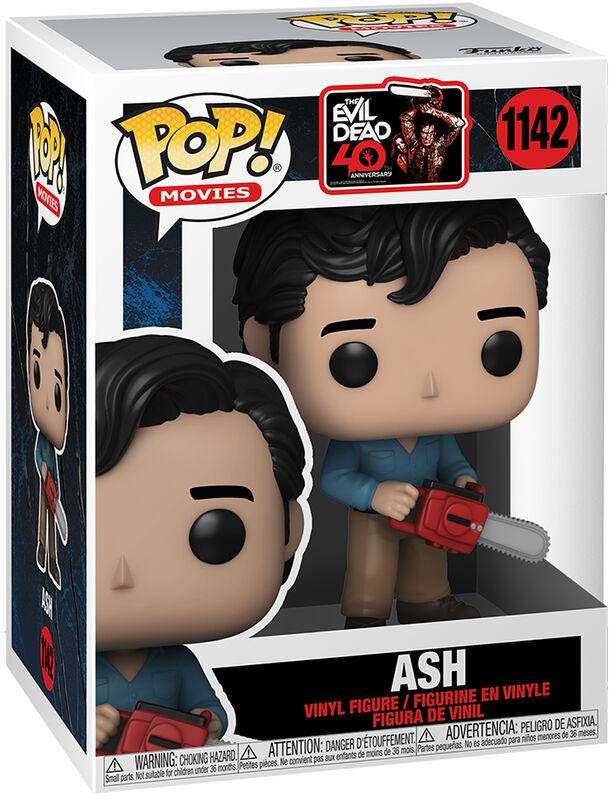 Evil Dead Anniversary- Ash (Chase Edition Possible) Vinyl Figuur 1142