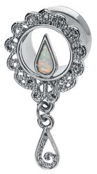 Hautwerk Antique Silver Pearl