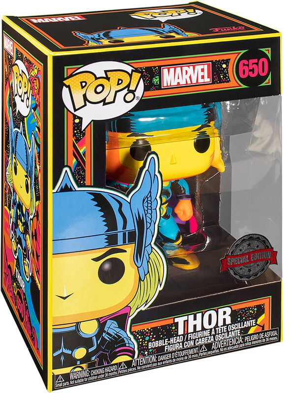 Black Light - Thor Vinylfiguur 650