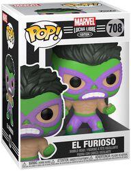 El Furioso - Marvel Luchadores - Vinylfiguur 708