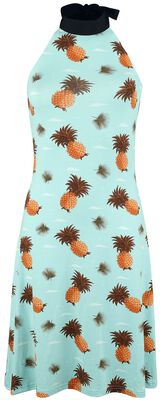 Pineapple Halter Neck Dress