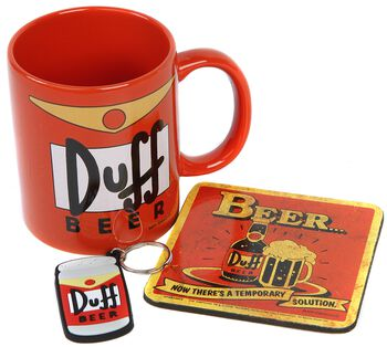 Simpsons Duff - Gift Set