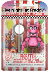 Pizza Simulator - Pigpatch Actiefiguur