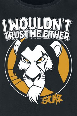 Scar - I wouldn't trust me either