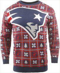 New England Patriots Crew Neck Sweater