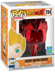 Z - SDCC 2019 - Super Saiyan Vegeta (Red Chrome) Vinylfiguur 154