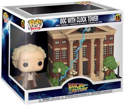 Doc with Clock Tower (Pop! Town) Vinylfiguur 15