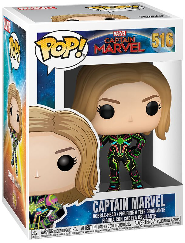 Captain Marvel Vinylfiguur 516
