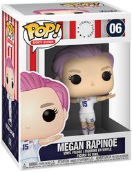 Football US Women's National Team - Megan Rapinoe (Sport Legends) Vinylfiguur 06
