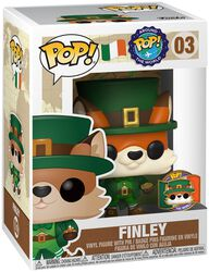 Around The World - Finley (POP en pin) (Ireland) (Funko Shop Europe) Vinylfiguur 03