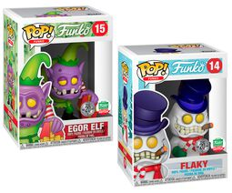 Fantastik Plastik - Flaky and Egor Elf (2 Pack) ( Funko Shop Europe) 14+15