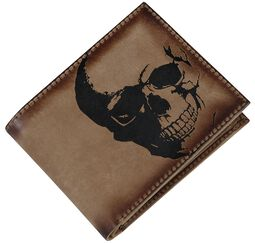 Leather Wallets Skull