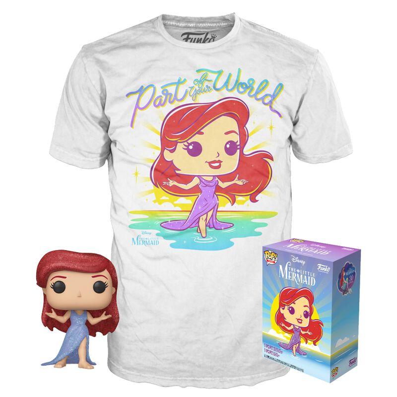 Ariel - T-shirt plus Funko - POP! & Tee