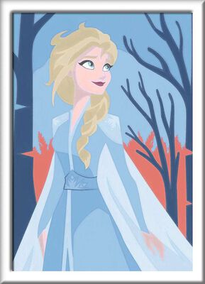 2- Elsa - Paint By Numbers