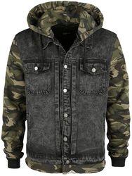 Hooded Jeans Vest