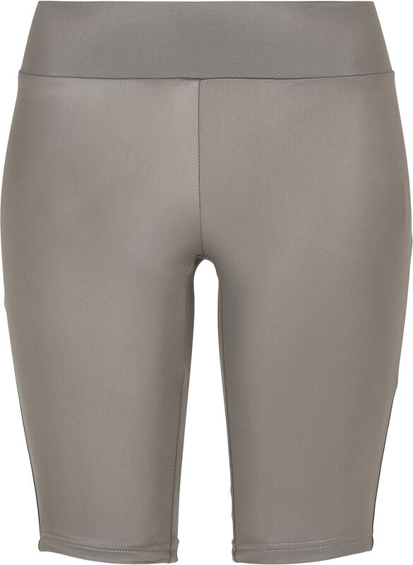 Ladies Imitation Leather Cycle Shorts