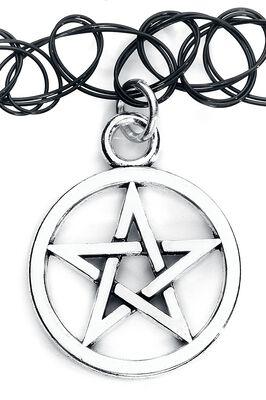 Pentagram Tattoo Necklace