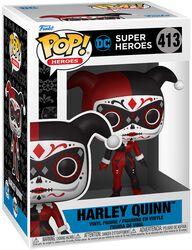 Dia De Los DC- Harley Vinyl Figuur