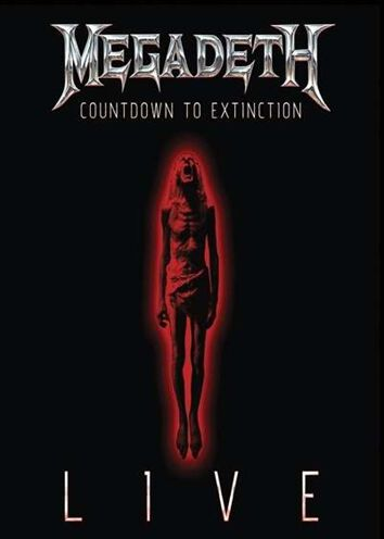 countdown to extinction live megadeth dvd large