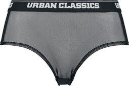 Ladies Tech Mesh Logo Panty