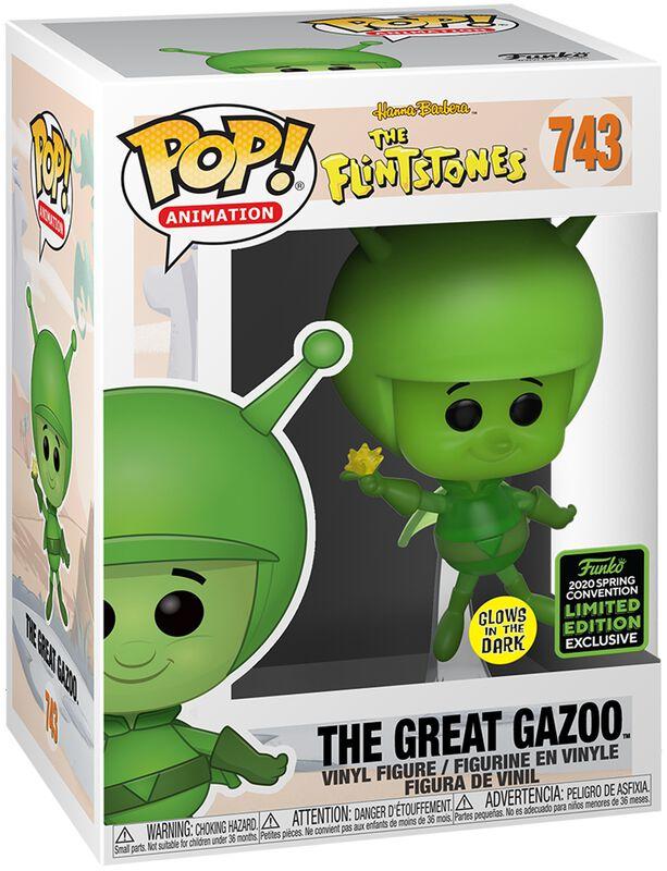 The Flintstones ECCC 2020 - The Great Gazoo (Funko Shop Europe) Vinylfiguur 743