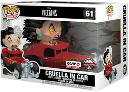 Cruella in Car POP Rides Vinylfiguur 61
