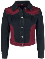 Bryony Contrast Denim Jacket