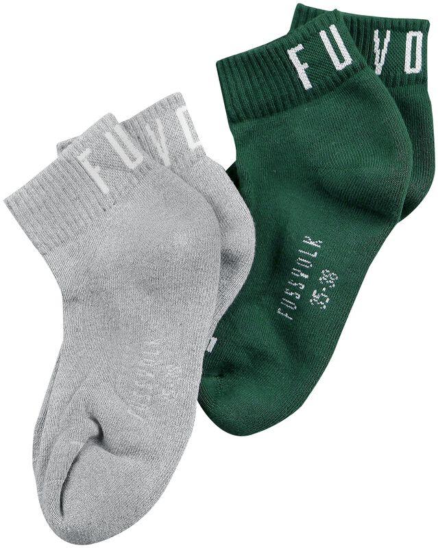 2-Pack Quarter Socks Uni