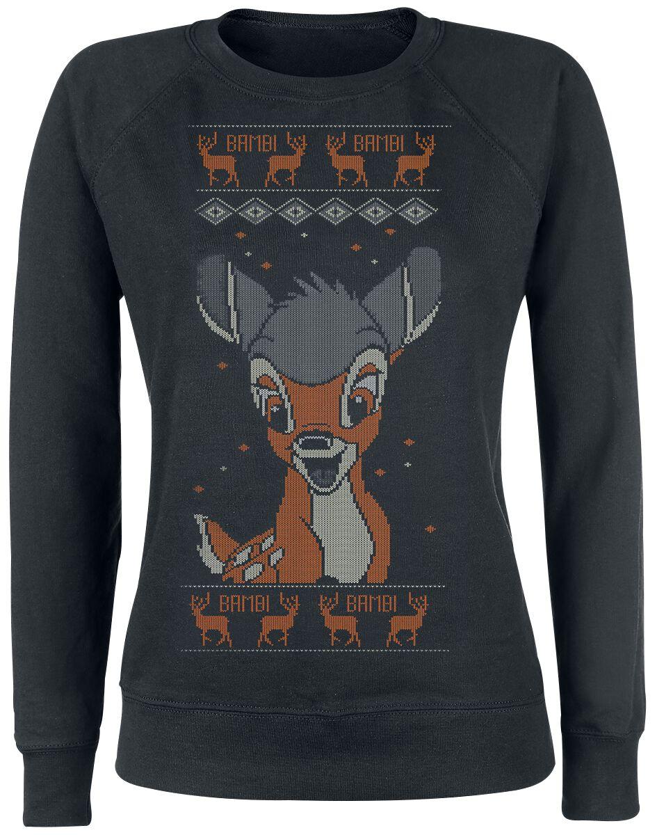 Kersttrui Actie.Hello Bambi Kersttrui Large
