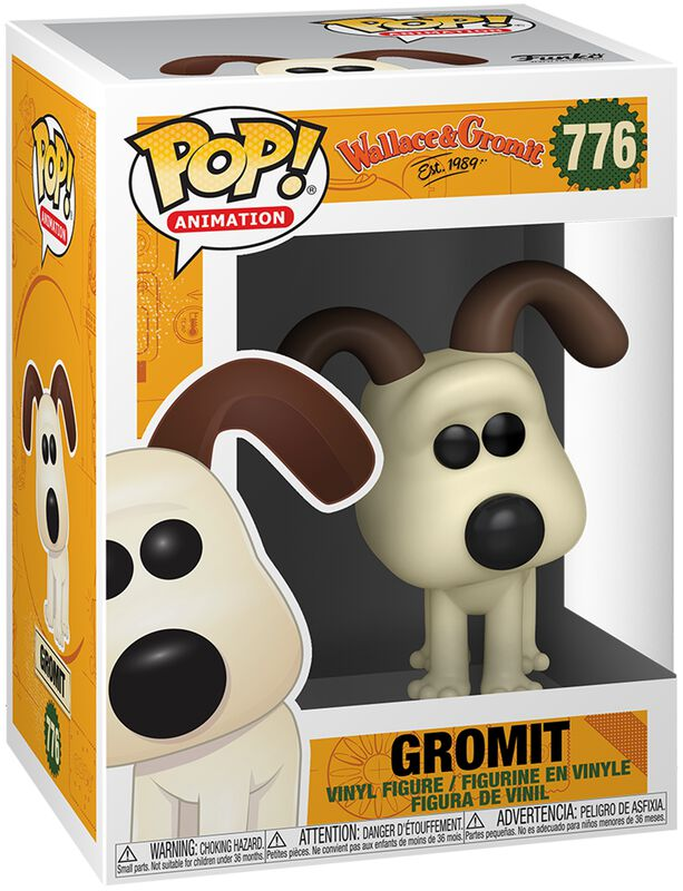 Wallace & Gromit Gromit Vinylfiguur 776