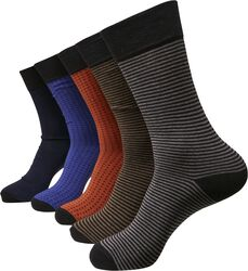 Stripes and Dots Socks 5-Pack