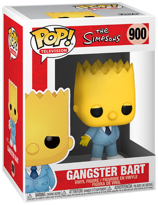 Gangster Bart Vinylfiguur 900