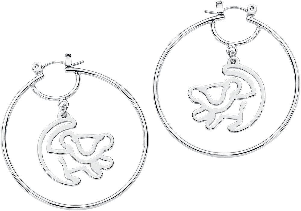 Disney by Couture Kingdom - Simba Hoop Earrings