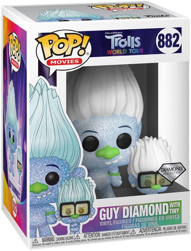 World Tour - Guy Diamond with Tiny (Glitter) Vinylfiguur 882