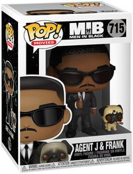 Agent J and Frank Vinylfiguur 715